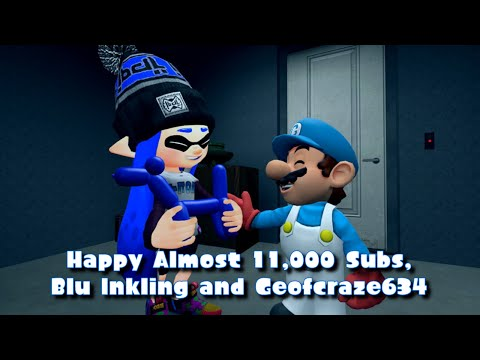 Happy Almost 11,000 Subs, Blu Inkling and Geofcraze634!