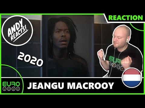 THE NETHERLANDS EUROVISION 2020 REACTION: Jeangu Macrooy - Grow | ANDY REACTS!