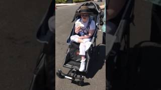 PART 2 DEMO: ADULT, MOBILITY STROLLER MADE BY ADAPTIVE STAR!