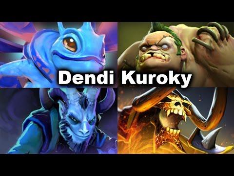 Dendi Puck SyndereN Crit MidOne vs DityaRa Kuroky Pudge Manila Dota 2