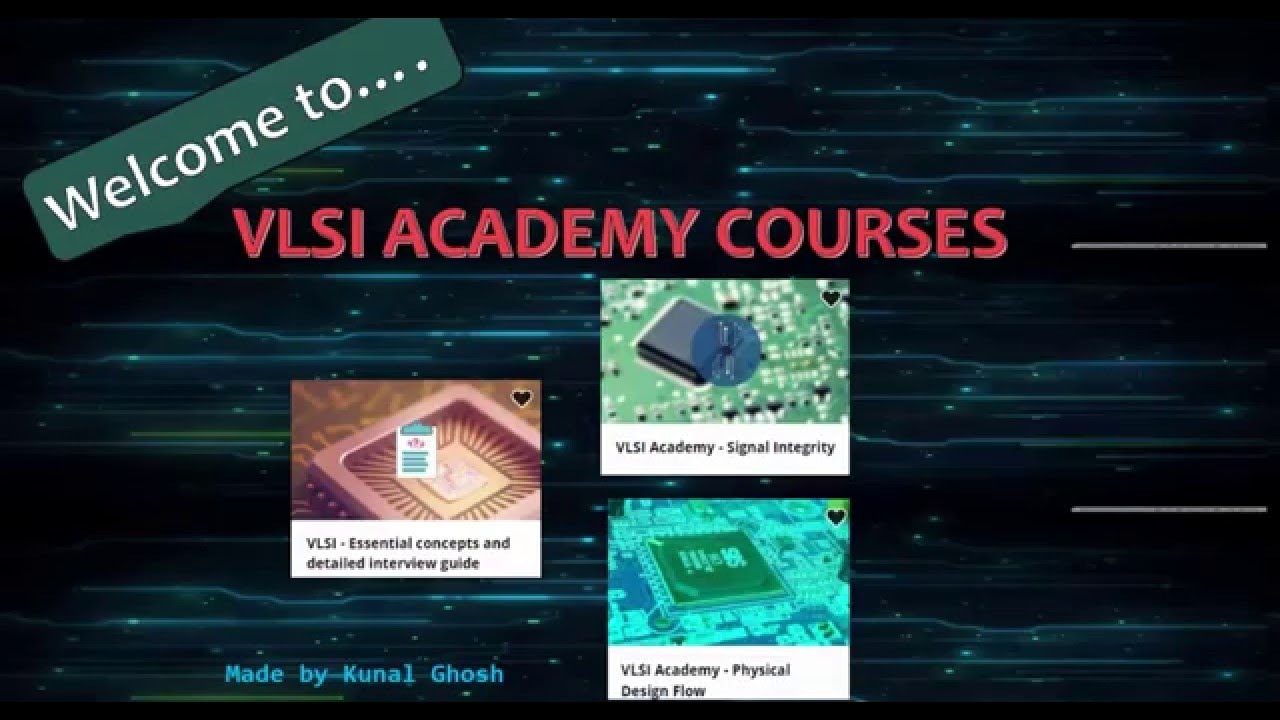 Online Courses to Learn Chip Design  @Udemy