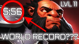 FASTEST LVL 11 AXE JUNGLE EVER - WORLD RECORD DOTA 2?