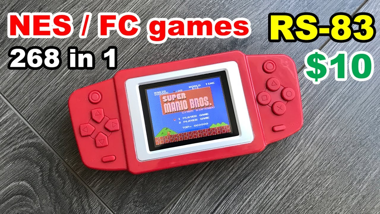 3cd7c0d7fe215 ✅ Subor CoolBaby RS-83 Portable game NES - 268 FULL games list ...