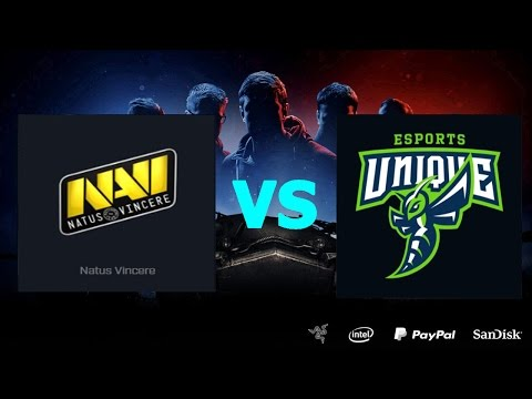 Natus Vincere G2A vs UNIQUE - День 23.Сезон II. Gold Series WGL RU 2016/17.