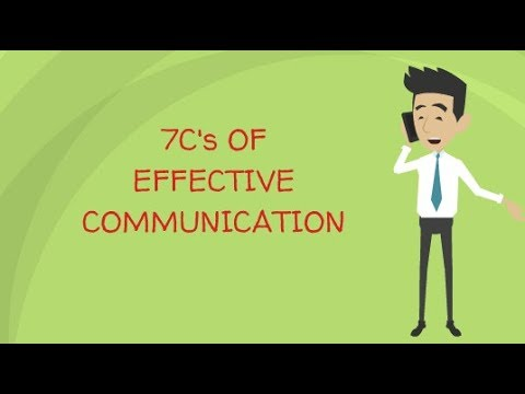 7 C's Of Effective Communication | Self Help
