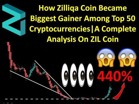 How Zilliqa Coin Became Biggest Gainer Among Top 50 Cryptocurrencies|A Complete Analysis On ZIL Coin