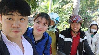 Lần đầu tiên  út yêu đi Sài Gòn- Đưa Hoon về Hàn Quốc