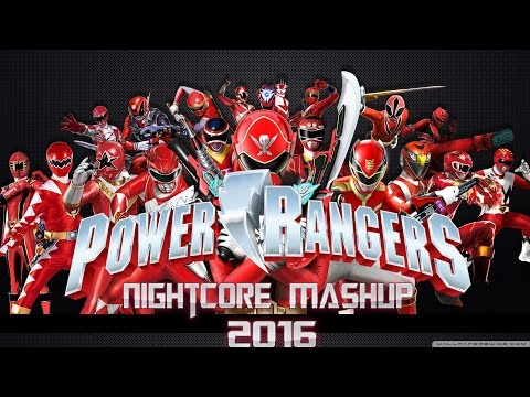 All Power Rangers theme song 2016 - Nightcore + Mashup (Mighty - Dino Charge)