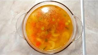 Легкий овощной суп с сельдереем/ Light vegetable soup with celery