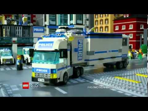 Statia De Politie Lego City 7498 Youtube