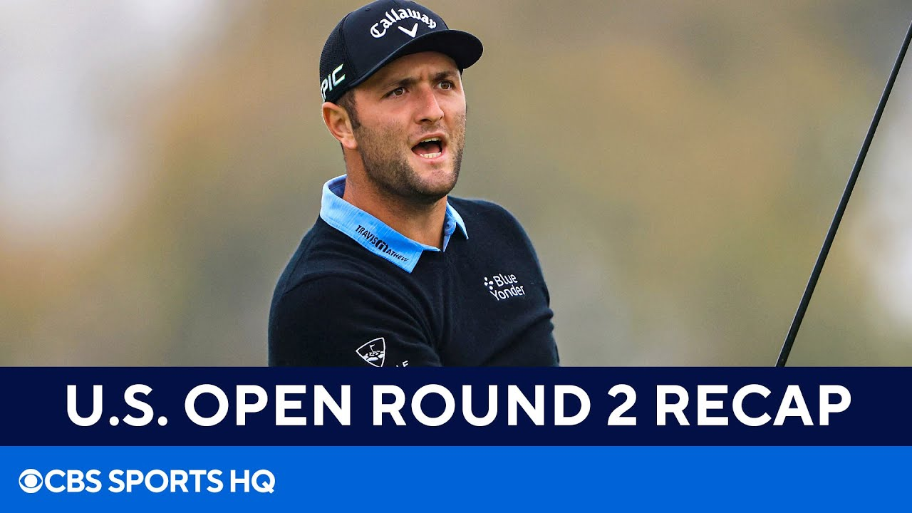 U.S. Open Round 2 Recap: Jon Rahm among stacked top 20 behind co-leaders | CBS Sports HQ