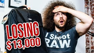 LOSING $13,000 Of Camera Gear! OOOPS (Tips for flying with cameras)