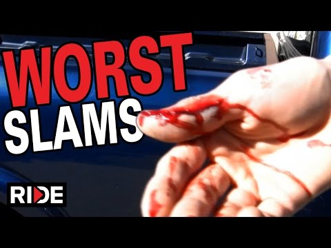 Worst Skateboarding Slams Compilation