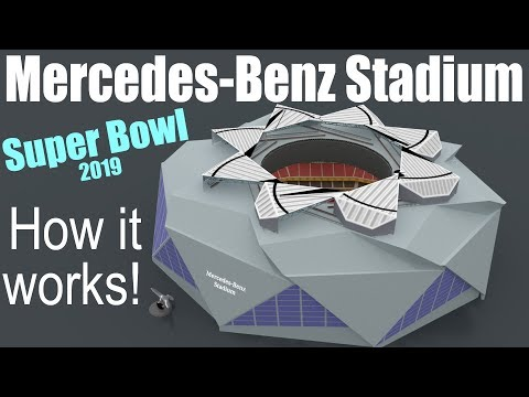 How Does The Mercedes-Benz Stadium Work?