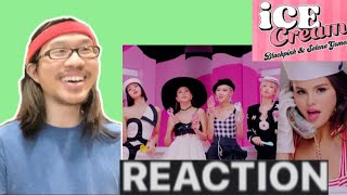 Yes queens! i'm reacting to blackpink - 'ice cream (with selena gomez)' m/v original link: https://www./watch?v=vrxzj0dzxia disclaimer: all rights...