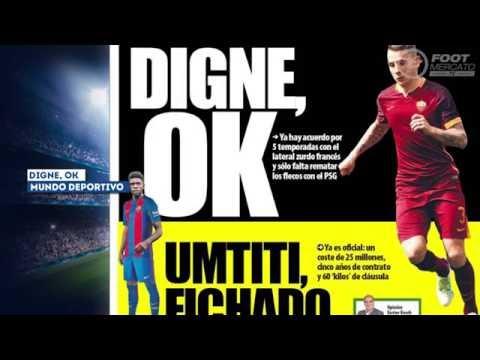Digne OK avec le Barça, José Mourinho réclame Fabregas à Manchester United