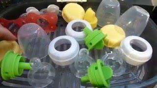 Test Run of Dr. Browns Electric Bottle Sterilizer