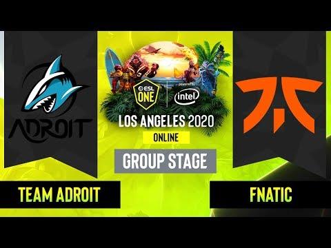 Team Adroit vs Fnatic vod
