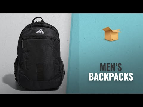 great-editors'-picks-men's-backpacks-collection:-adidas-foundation-iv-backpack,-black/white,-one