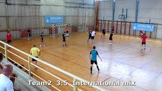 Handball. Team2 -  International mix. Rovinj handball camp. 21.06.2018