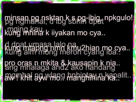 Tagalog Quotes About Love And Friendship Fascinating Tagalog Love And Friendship Quotes  Youtube