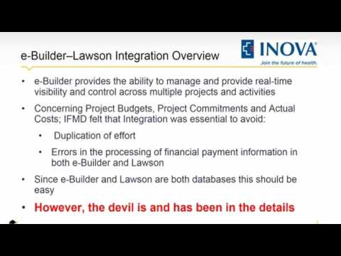 Inova Webinar - Integrating Your Capital Project Systems