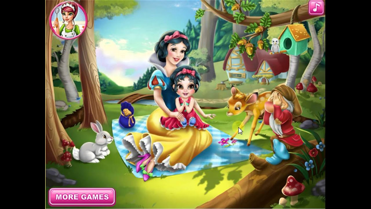 Baby hazel bed time youtube - Snow White Baby Wash Baby Hazel Bed Time New Baby Game For Little Kids