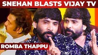 Vijay TV TRP-காகதான் Saravanan-ஐ வெளிய அனுப்புனாங்களா ?
