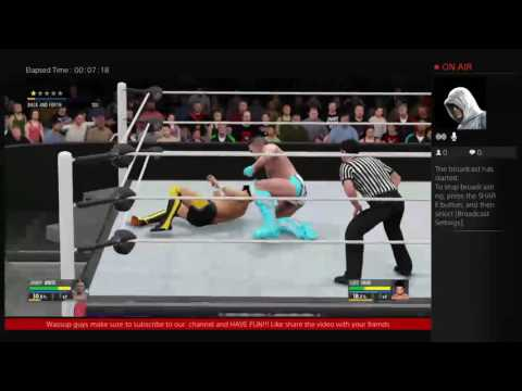 WWE2K16  MY CAREER JOHNNY WHITE