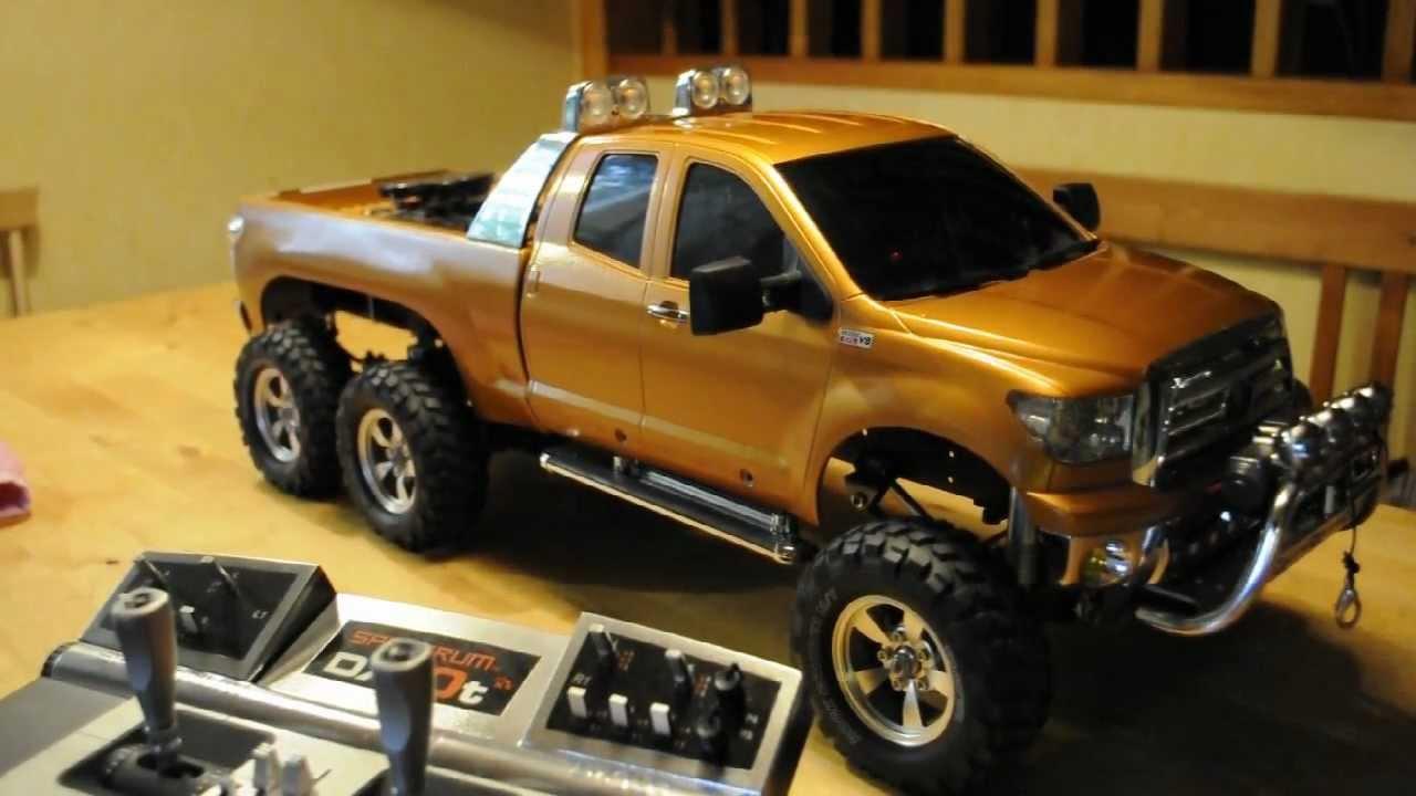 Tamiya Toyota Tundra 6x6 High Lift 2 0 Youtube