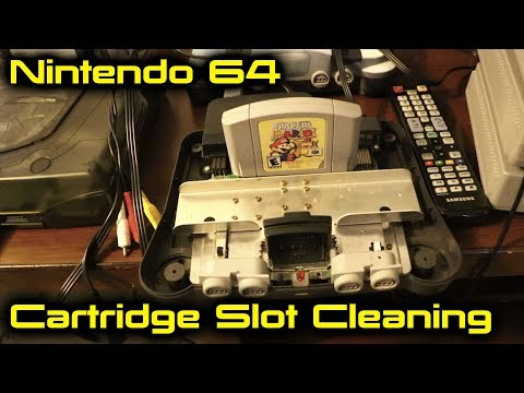 Nintendo 64 Cartridge Slot Cleaning