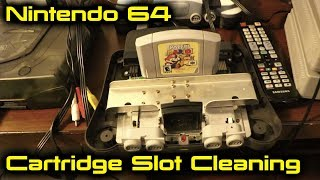 Nintendo 64 Cartridge Slot Cleaning
