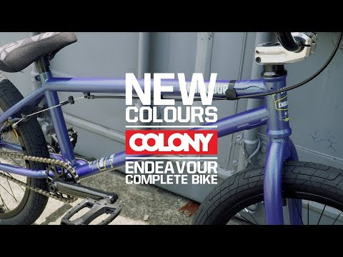 The Colony Endeavour complete bike still going strong after all these years! Now available in the nee Pearl Blue colour option, check it out. More info here: ...