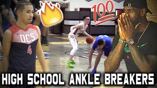 The BEST High School CROSSOVERS & ANKLE BREAKERS of 2019   Basketball Vines