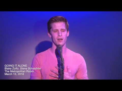Blake Zolfo Sings Going It Alone
