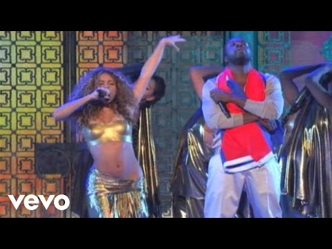 Shakira - Hips Don't Lie (Live at the GRAMMYs on CBS) ft. Wyclef Jean