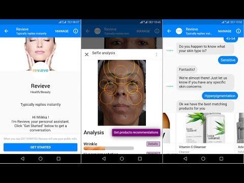Facebook Messenger - Digital Beauty Advisor for retailers & brands