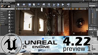 Unreal Engine 4.22 Preview Released -- RealTime Raytracing Arrives!