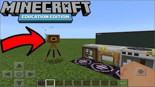 Lets Play Minecraft Education Edition (waited 5 Years To Use The Camera)