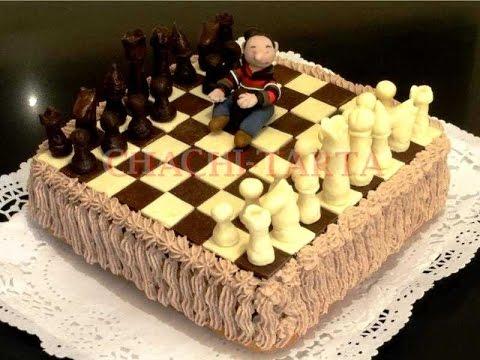 CHACHITARTA Tarta ajedrez de cumpleaos YouTube