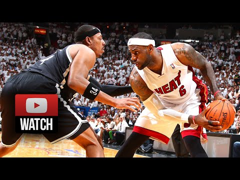 LeBron James Full Highlights vs Brooklyn Nets 2014 ECSF G1 - 22 Pts