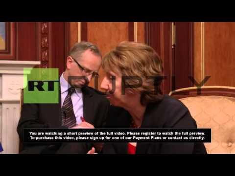 Ukraine: Ashton meets Klitschko in Kiev