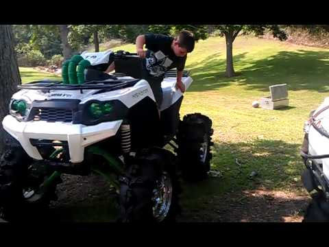 Kawasaki Brute Force Lifted