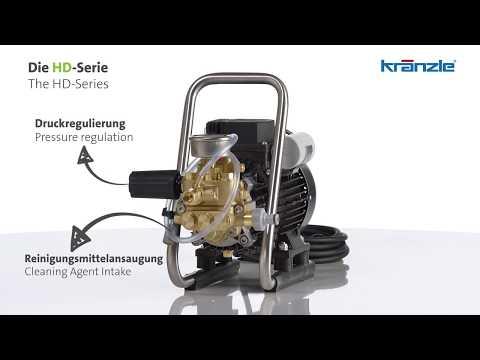 Tragbarer Kr/änzle-Hochdruckreiniger HD 9//80
