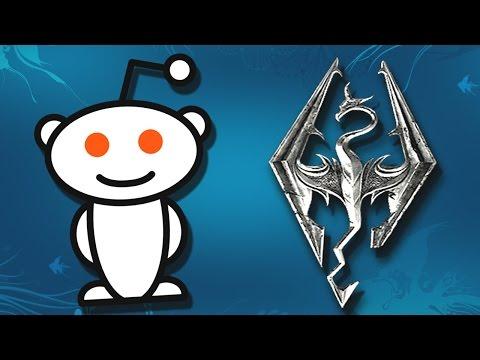 Reddit Community Mourns Fallen Skyrim Player
