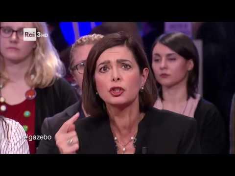 Laura Boldrini e gli insulti sessisti sui social - Gazebo Social News