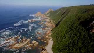 above the garden route in south africa 4k uhd