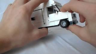 Обзор Lego-самоделки Peugeot J5 MAXI (MOC)