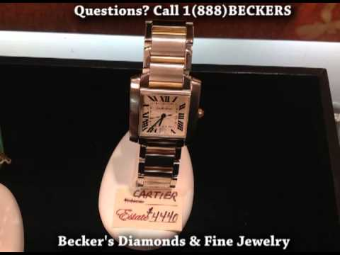 Becker's Jewelry Buyer Seller Dealer Cartier, Rolex Breitling Cyma Tiffany West Hartford CT