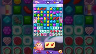 Candy Crush FRIENDS Saga level 154 no boosters